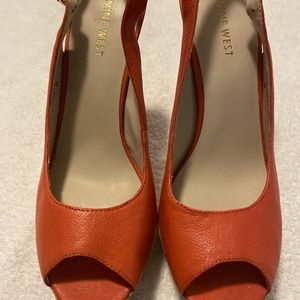 Almost Brand New Gorgeous Heels By NINE WEST